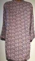 PINK BUTTERFLY PRINT BLOUSE TOP BNWT SIZE 14-16